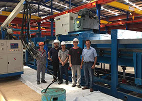 Discontinuous PU/PUR/PIR Sandwoch Panel Production Line